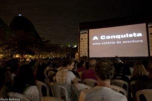 Cine Montanha Empolga o Público na Urca