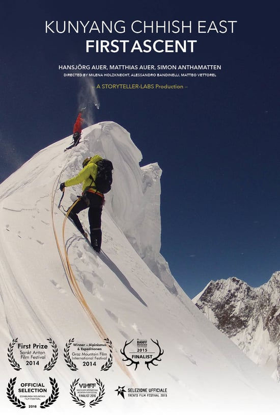First Ascent - Kunyang Chhish East