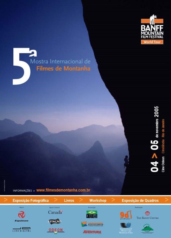 5ª Mostra Internacional de Filmes de Montanha - 2005