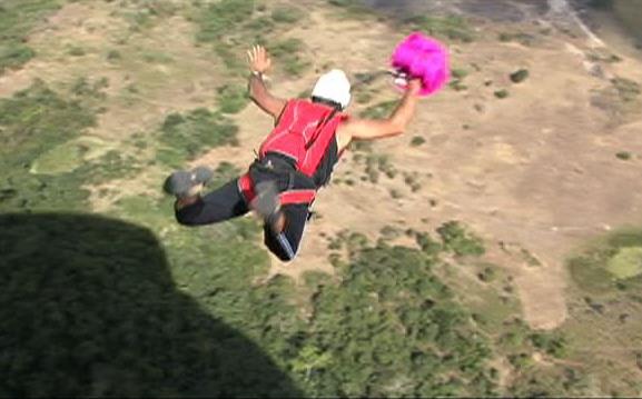 BASE Jump em Minas Gerais