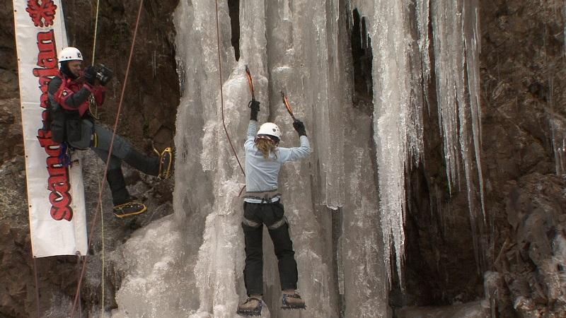 Adrenalina – Escalada em cascatas congeladas