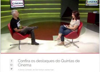 Alexandre Diniz fala sobre o Festival na TV Brasil