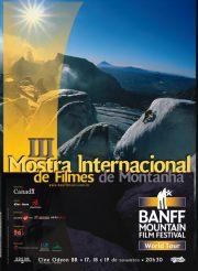 3ª Mostra Internacional de Filmes de Montanha - 2003